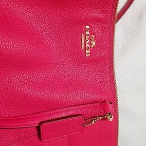 Coach Bags - Coach Leather Pink with gold hardware